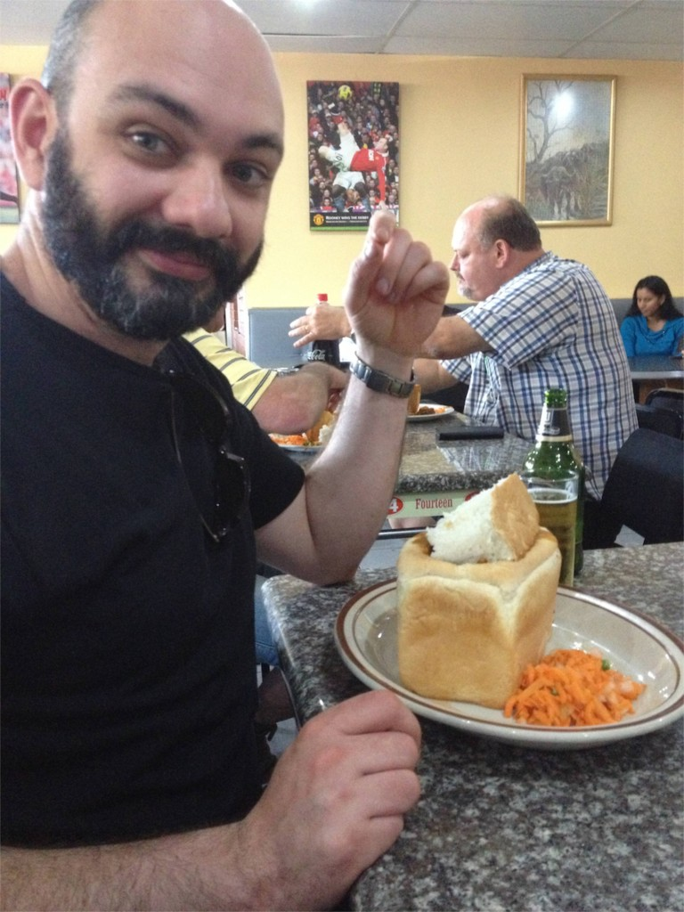 Bunny Chow - who called it that? any who, it was good.