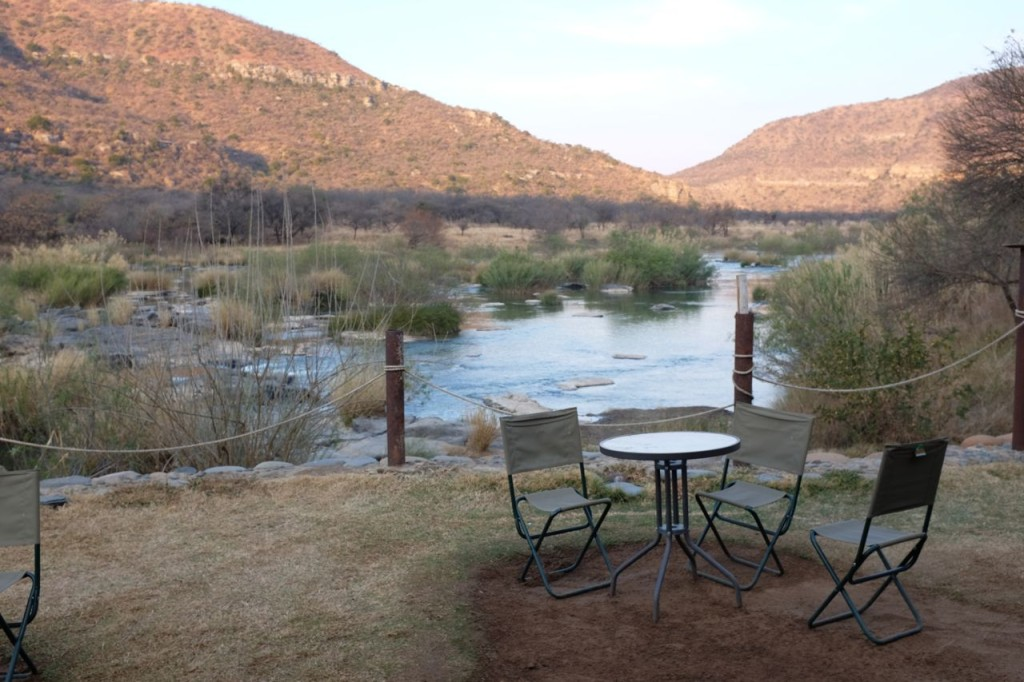 View from the camp over the Tugela River